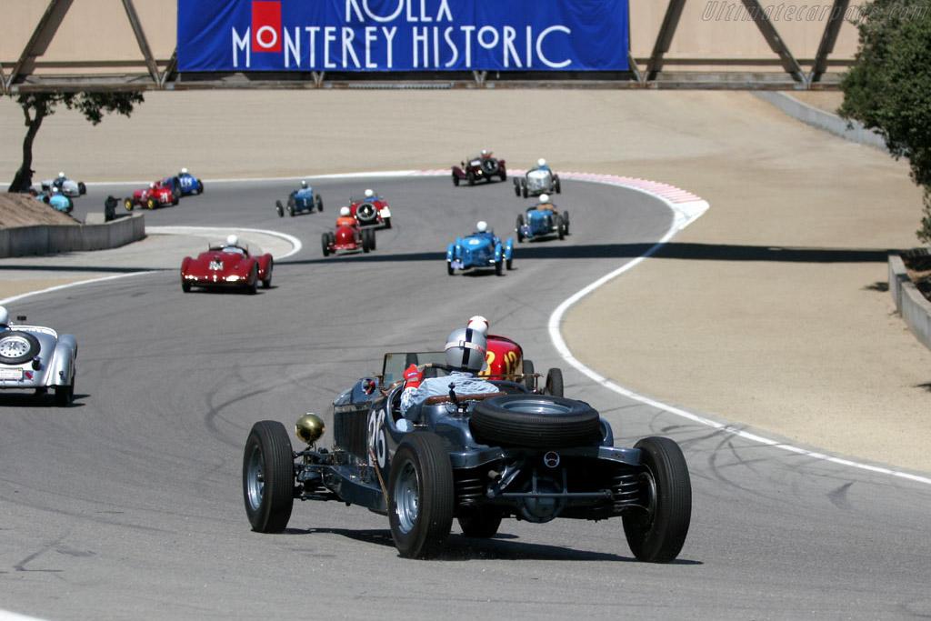 Bu-Merc Special    - 2005 Monterey Historic Automobile Races