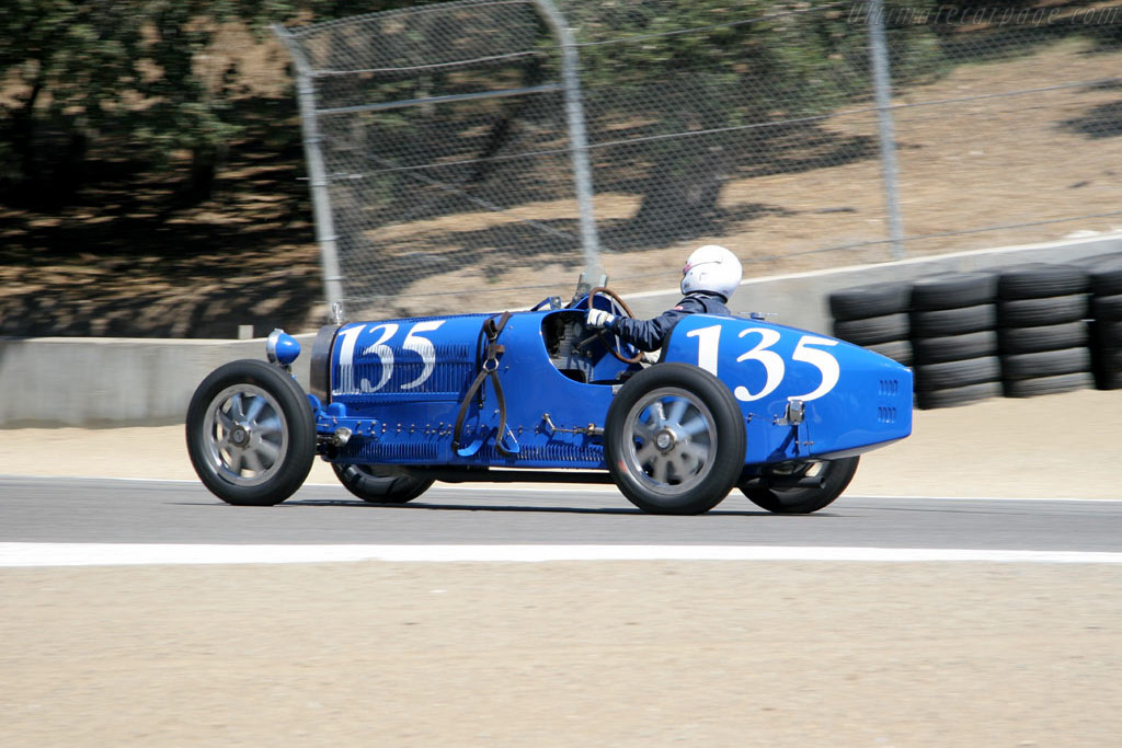 Bugatti Type 35C    - 2005 Monterey Historic Automobile Races
