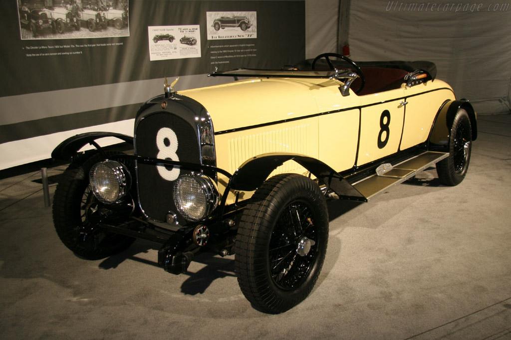 Chrysler Model 72 Le Mans    - 2005 Monterey Historic Automobile Races