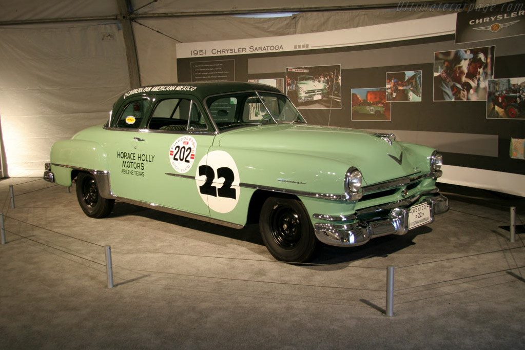 Chrysler Saratoga    - 2005 Monterey Historic Automobile Races