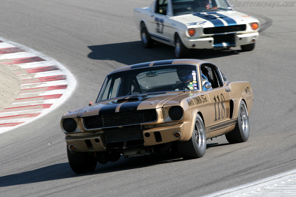 Ford Shelby Mustang GT350    - 2005 Monterey Historic Automobile Races