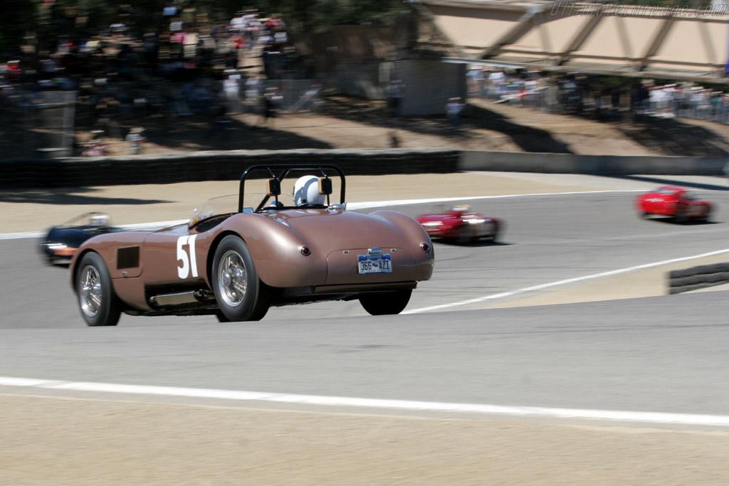 Jaguar C-Type    - 2005 Monterey Historic Automobile Races
