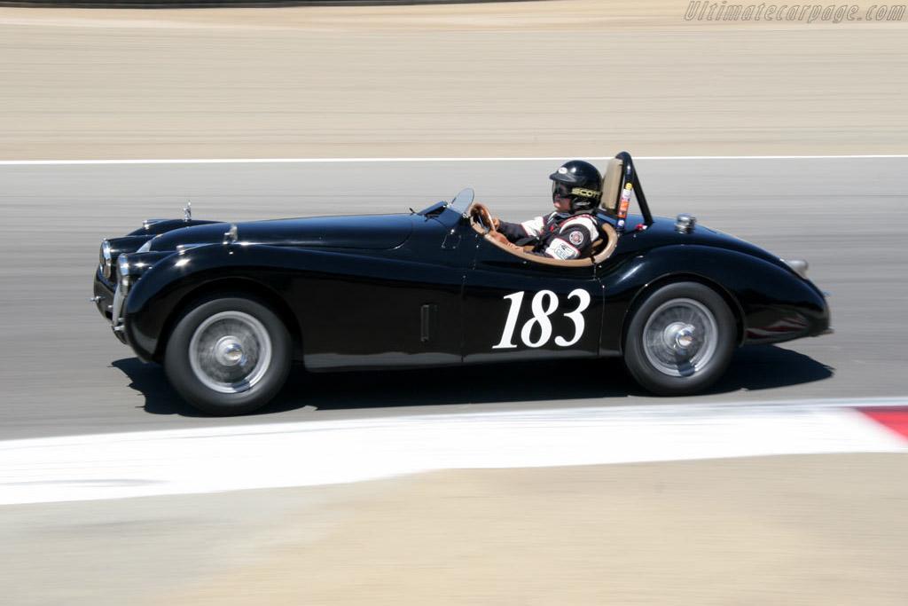 Jaguar XK 120    - 2005 Monterey Historic Automobile Races