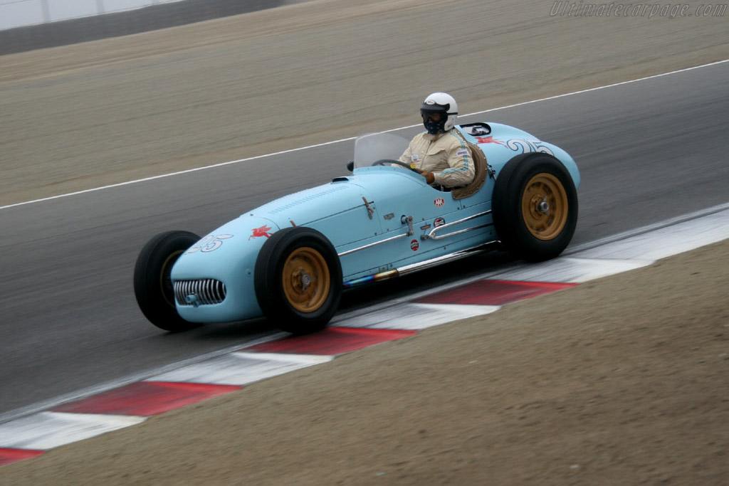 Kurtis K500    - 2005 Monterey Historic Automobile Races
