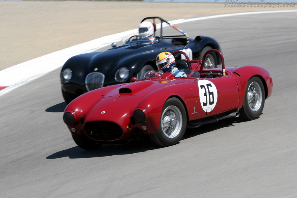 Lancia D24 R - Chassis: 0003R - Driver: Charles Nearburg  - 2005 Monterey Historic Automobile Races