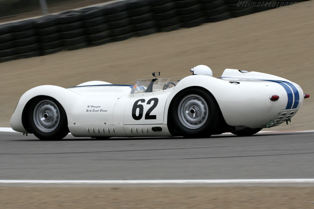 Lister Jaguar - Chassis: BHL 102   - 2005 Monterey Historic Automobile Races
