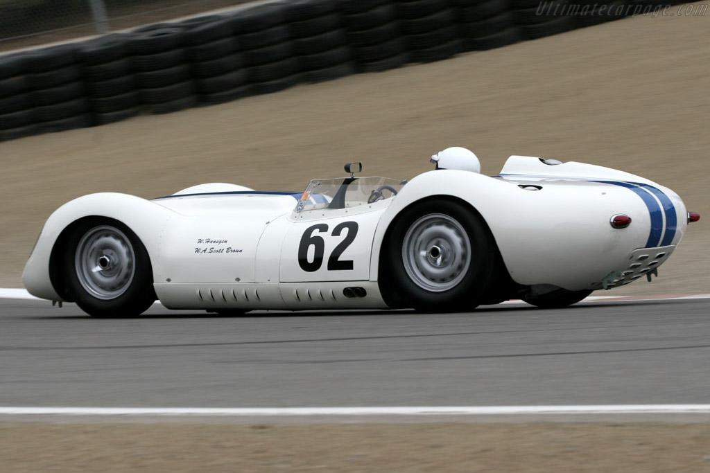 Lister Jaguar - Chassis: BHL 102   - 2005 Monterey Historic Automobile Races