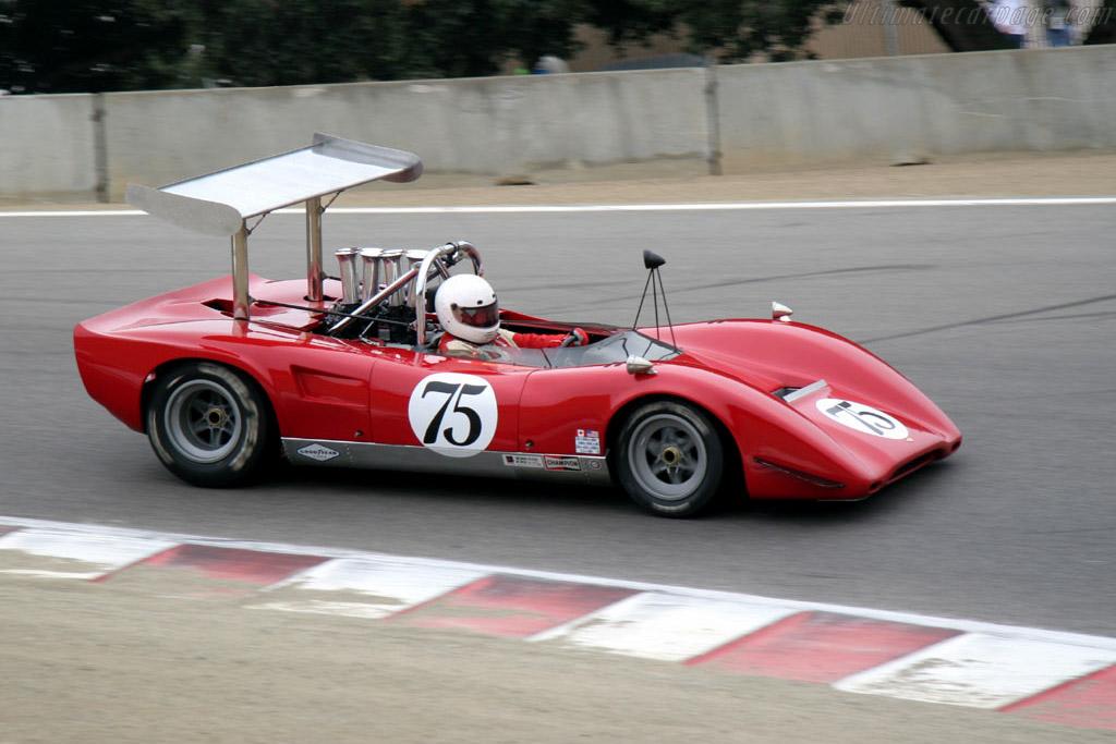 Lola T163  - Driver: Brian Blain  - 2005 Monterey Historic Automobile Races