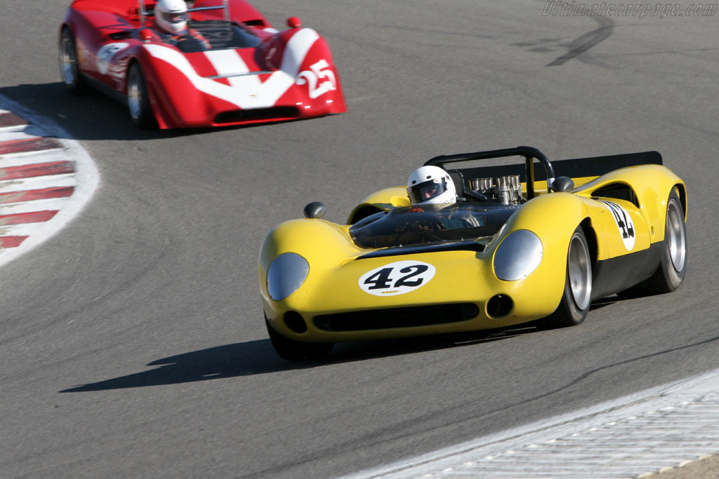 Lola T70 Mk1 - Chassis: SL70/9   - 2005 Monterey Historic Automobile Races