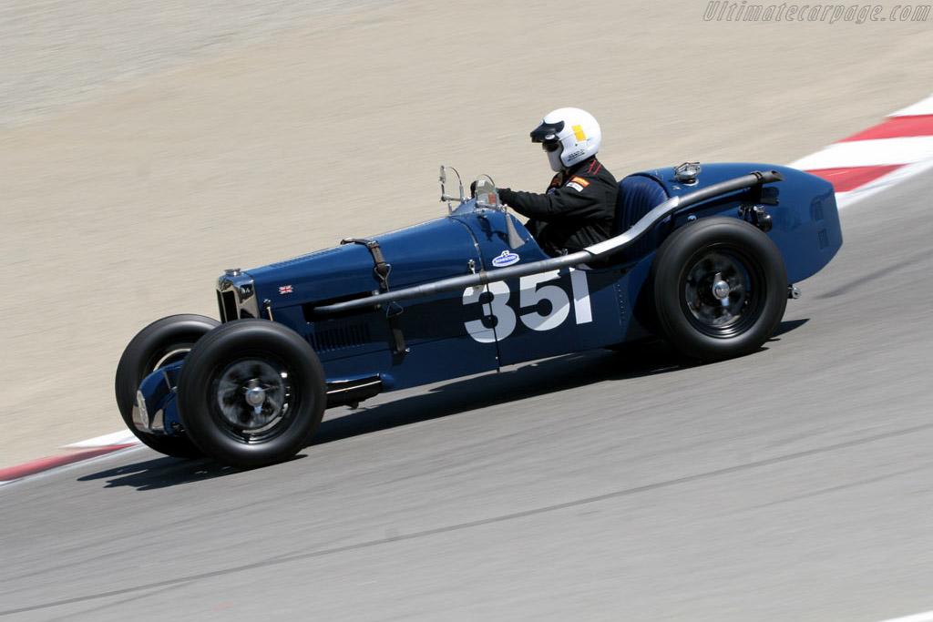 MG PB    - 2005 Monterey Historic Automobile Races