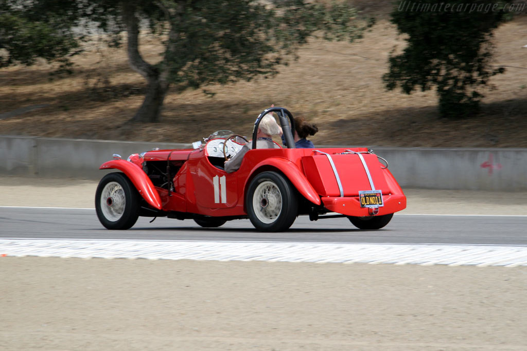 MG TD Special    - 2005 Monterey Historic Automobile Races