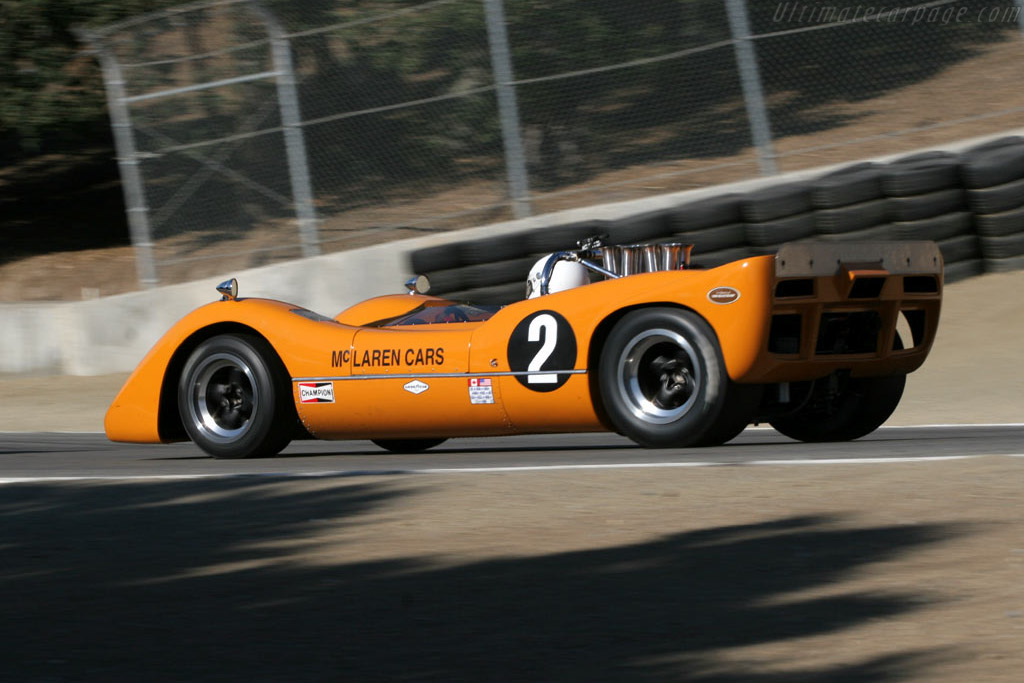 McLaren M6B - Chassis: 50-07A   - 2005 Monterey Historic Automobile Races
