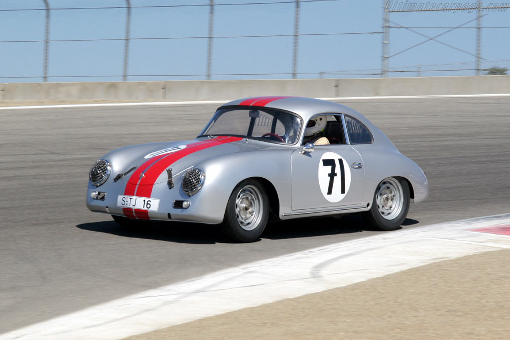Porsche 356A    - 2005 Monterey Historic Automobile Races