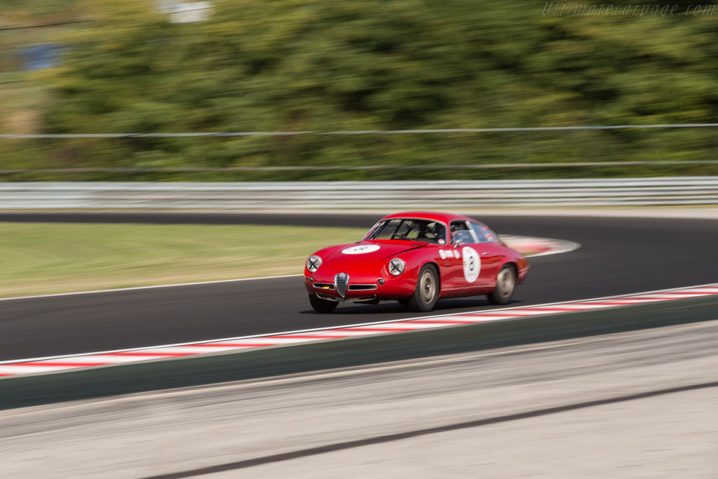 Alfa Romeo Giulietta SZ Coda Tronca - Chassis: AR10126 10184 - Driver: Xavier Galant  - 2017 Hungaroring Classic