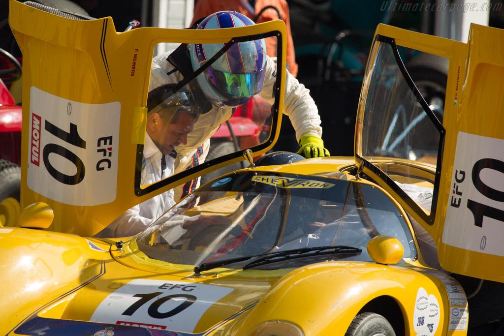 Chevron B16 - Chassis: CH-DBE-35 - Driver: Franco Meiners / Luca Sartori  - 2017 Hungaroring Classic