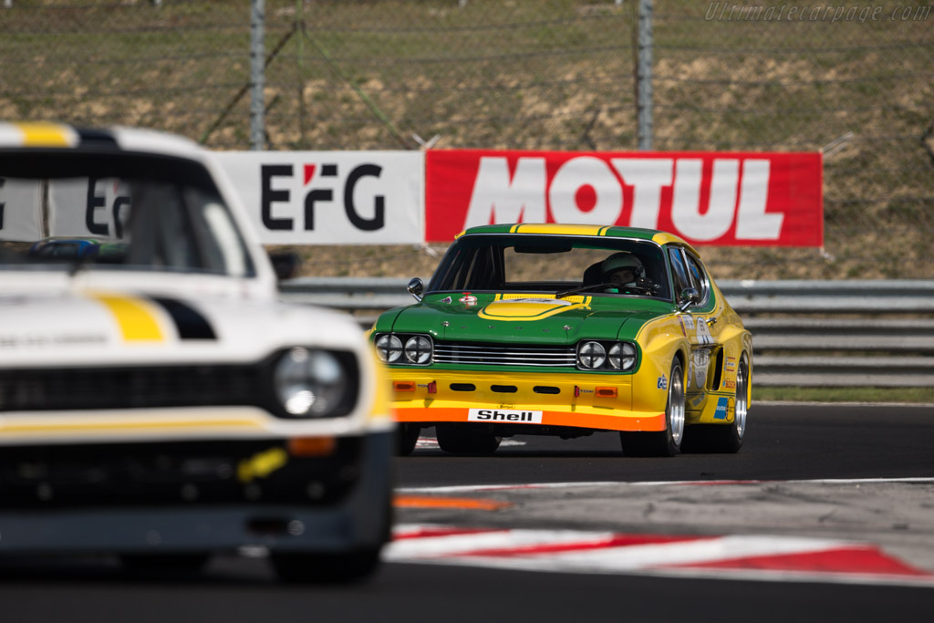 Ford Capri RS 2600 - Chassis: GAECMR57537 - Driver: Carlo Vogele / Yves Vogele  - 2017 Hungaroring Classic