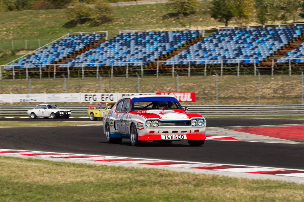 Ford Capri RS 2600  - Driver: Yves Vogele / Carlo Vogele  - 2017 Hungaroring Classic