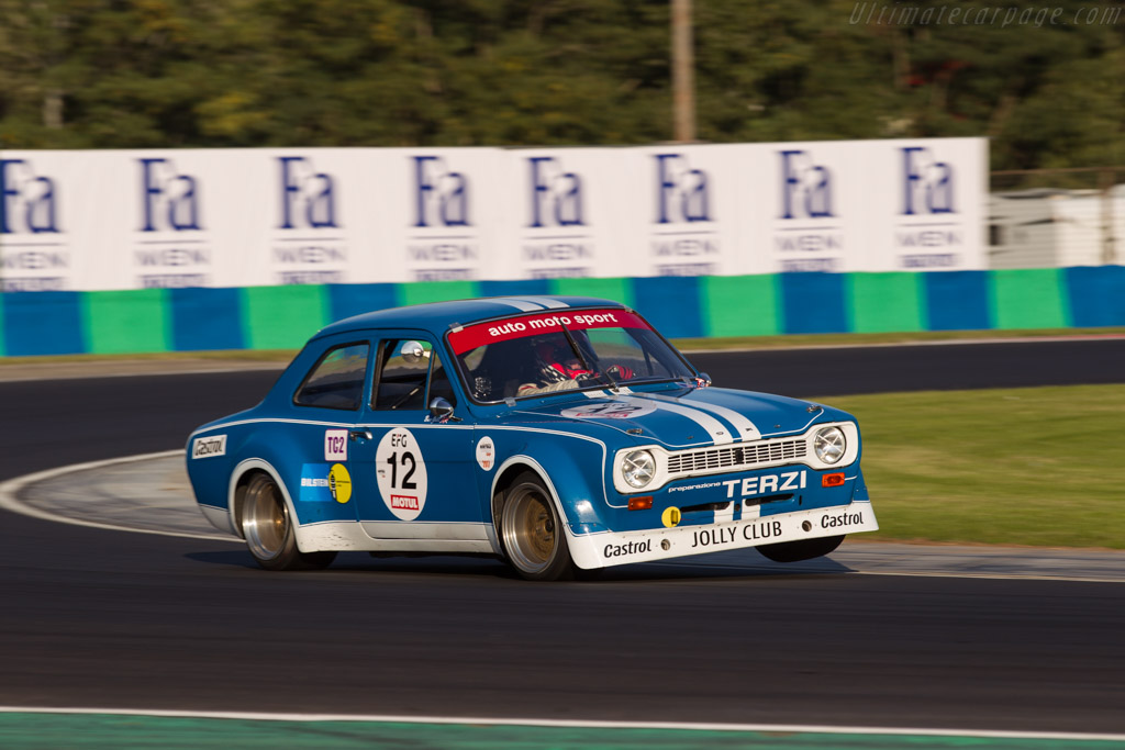 Ford Escort RS 1600 - Chassis: 1CBA657266 - Driver: Ben Gill  - 2017 Hungaroring Classic