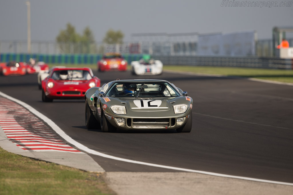 Ford GT40 - Chassis: GT40P/1078 - Driver: Claude Nahum - 2017 Hungaroring Classic