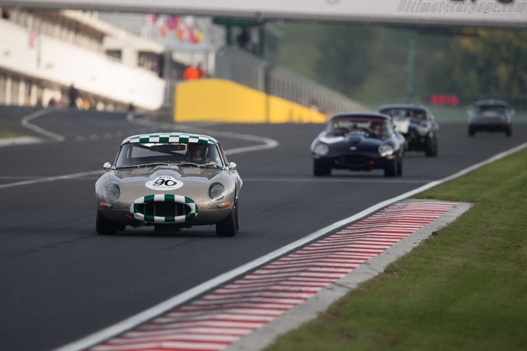 Jaguar E-Type - Chassis: 861769 - Driver: Carlos F. Cruz / Miguel Amaral  - 2017 Hungaroring Classic