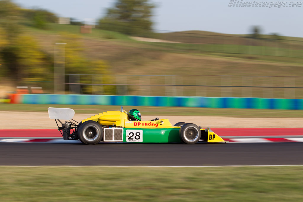 March 712  - Driver: Martin Stretton  - 2017 Hungaroring Classic