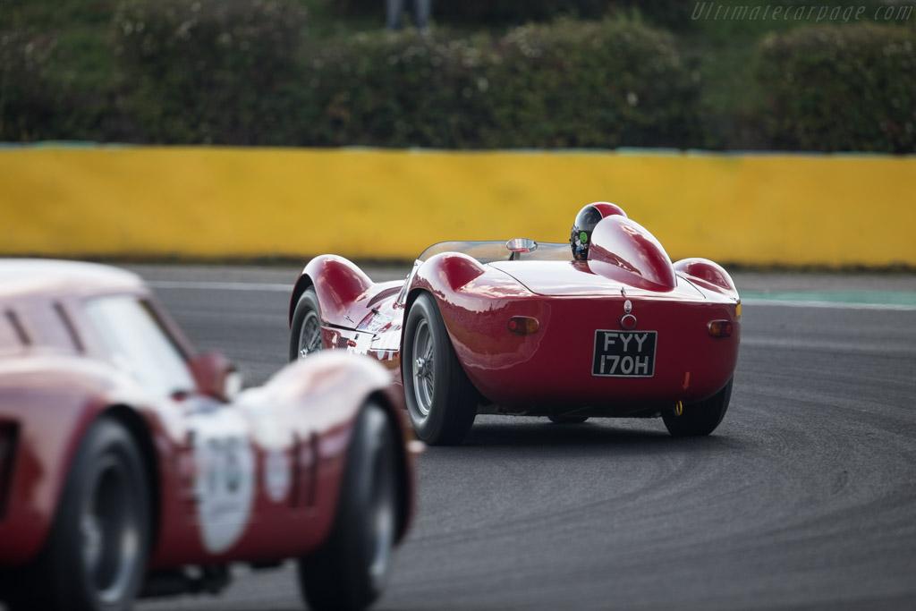 Maserati Tipo 60 Birdcage - Chassis: 2466 - Driver: Guillermo Fierro  - 2017 Hungaroring Classic