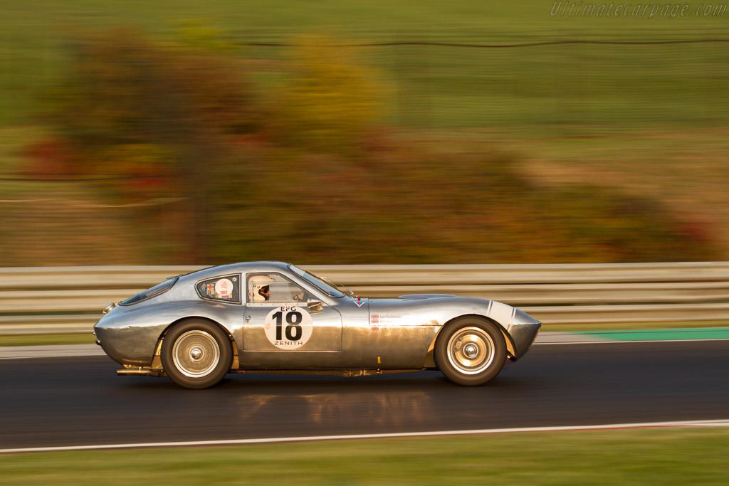 Morgan +4 SLR - Chassis: SLR4 - Driver: John Emberson / Bill Wykeham  - 2017 Hungaroring Classic