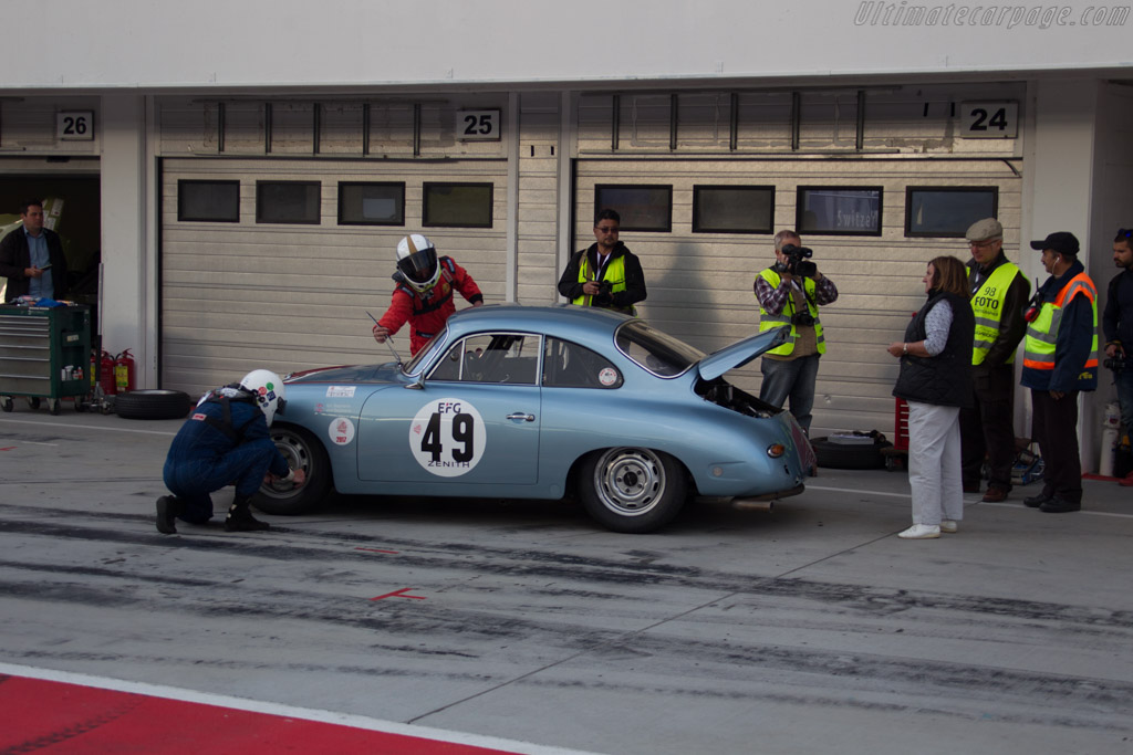 Porsche 356 SC - Chassis: 131928 - Driver: Bill Stephens / Will Stephens  - 2017 Hungaroring Classic