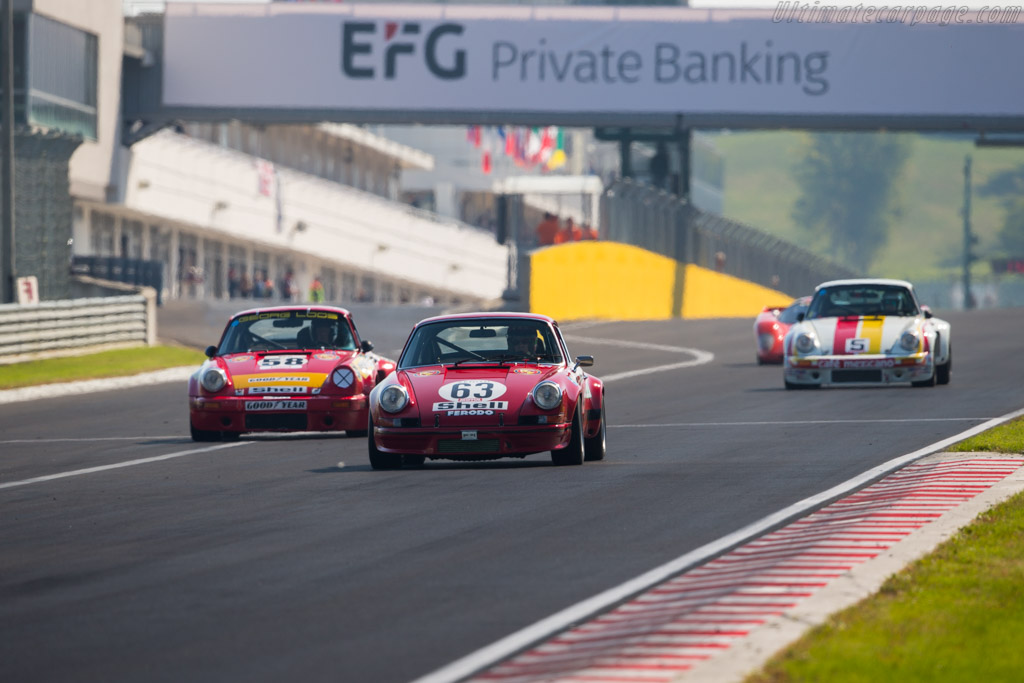 Porsche 911 Carrera RSR 2.8 - Chassis: 911 360 0761 - Driver: Didier Denat  - 2017 Hungaroring Classic