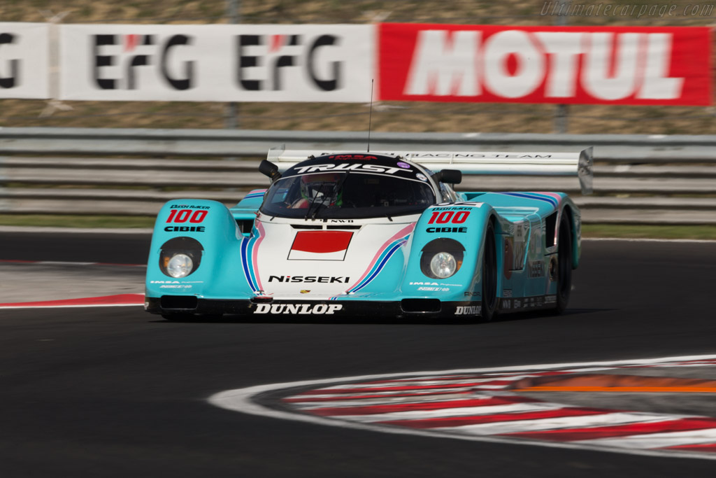Porsche 962C - Chassis: 962-170 - Driver: Michel Lecourt / Raymond Narac  - 2017 Hungaroring Classic