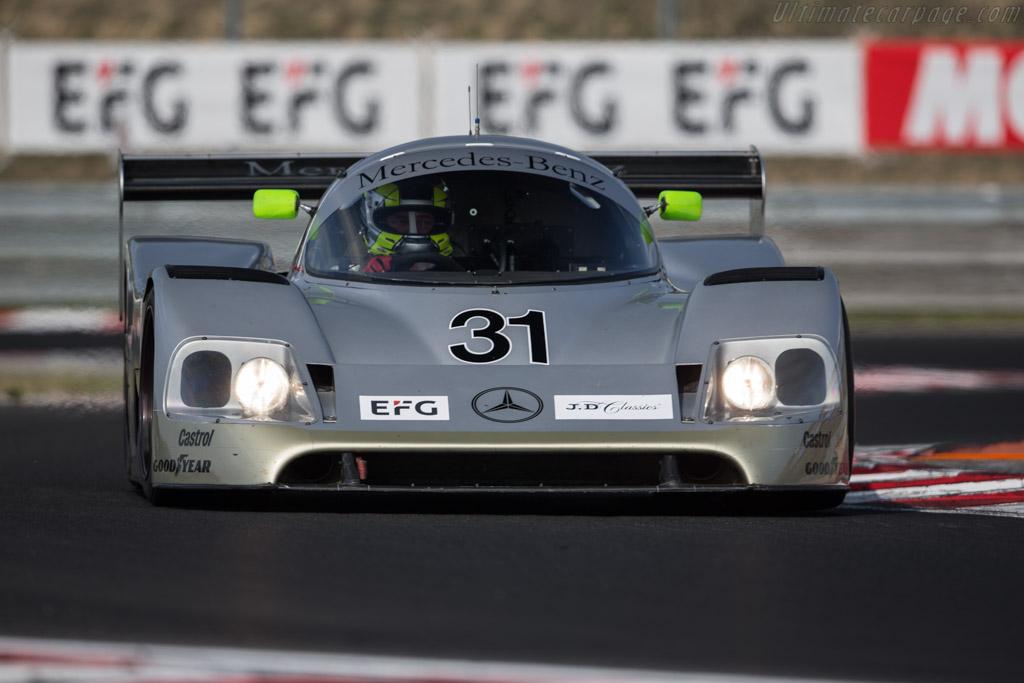 Sauber Mercedes C11 - Chassis: 89.C11.00 - Driver: Kriton Lendoudis / Rui Aguas  - 2017 Hungaroring Classic