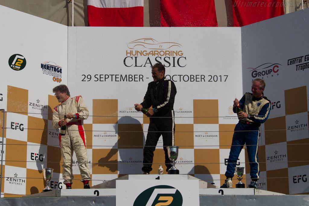 The podium   - 2017 Hungaroring Classic