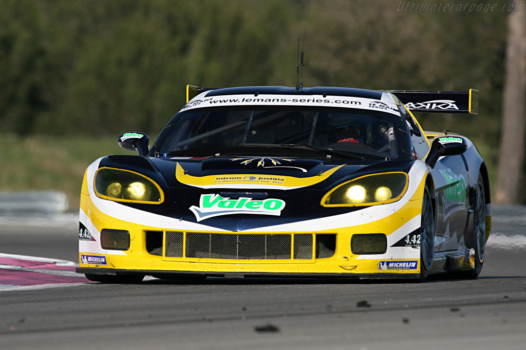 Chevrolet Corvette C6.R - Chassis: 004 - Entrant: Luc Alphand Adventures  - Le Mans Series 2007 Season Preview