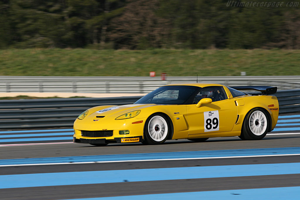 Chevrolet Corvette Z06 GT2 - Chassis: 1G1YY26E265114144 - Entrant: Markland Racing  - Le Mans Series 2007 Season Preview