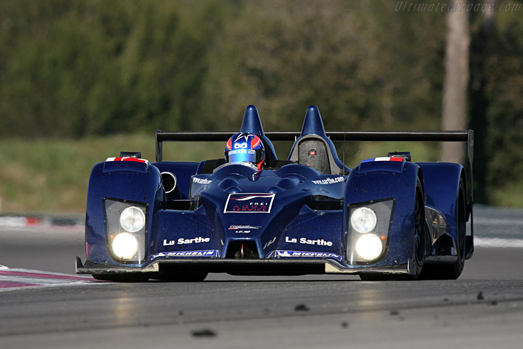 Courage LC70 AER - Chassis: LC70-3 - Entrant: Courage Competition  - Le Mans Series 2007 Season Preview