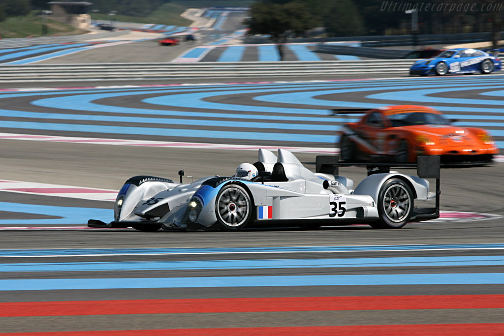 Courage LC75 AER - Chassis: LC70-2 - Entrant: Saulnier Racing  - Le Mans Series 2007 Season Preview