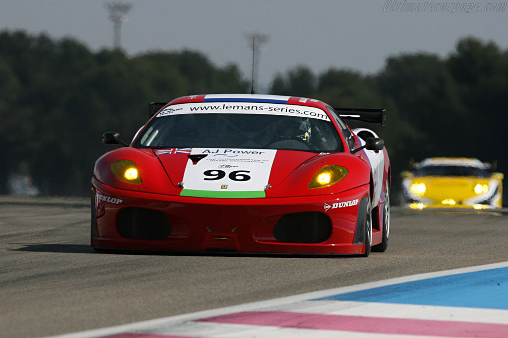 Ferrari F430 GTC - Chassis: 2408 - Entrant: Virgo Motorsport  - Le Mans Series 2007 Season Preview