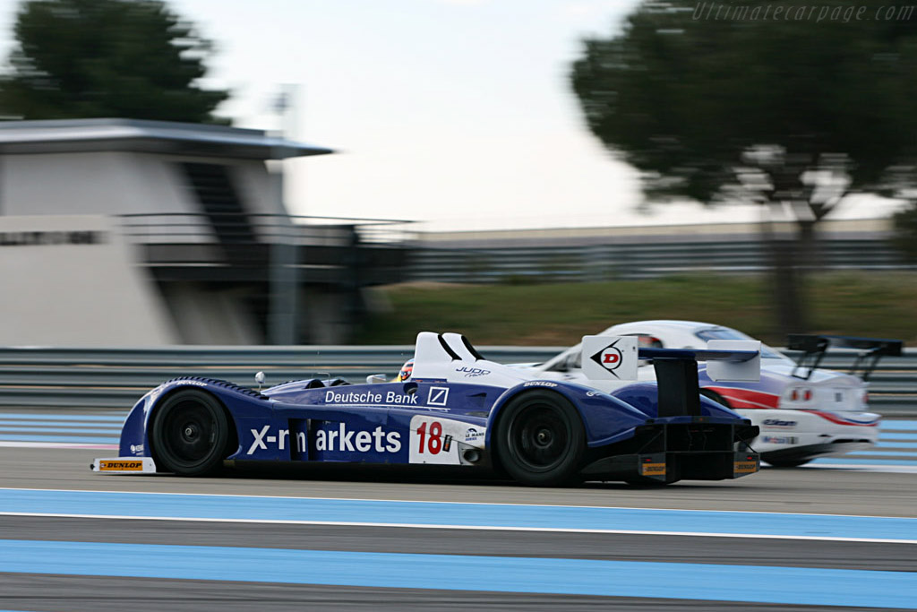 Pescarolo Judd - Chassis: 01-04 - Entrant: Rollcentre Racing  - Le Mans Series 2007 Season Preview
