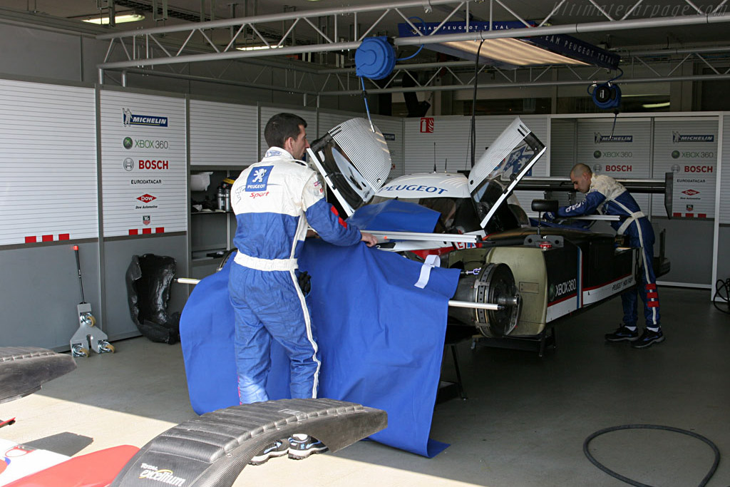 Peugeot 908 HDi FAP - Chassis: 908-01 - Entrant: Peugeot Sport Total  - Le Mans Series 2007 Season Preview