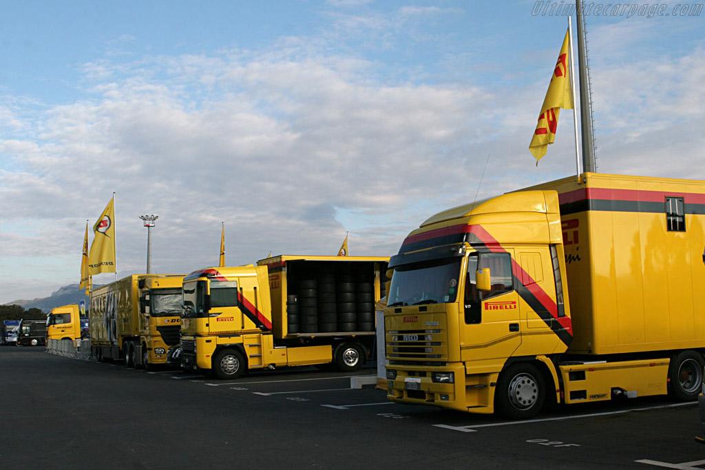 Pirelli and Dunlop   - Le Mans Series 2007 Season Preview
