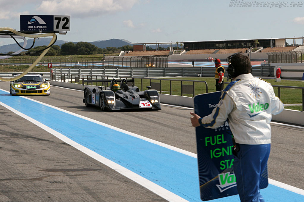 Pit lane - Chassis: B0610-HU03 - Entrant: Charouz Racing System  - Le Mans Series 2007 Season Preview