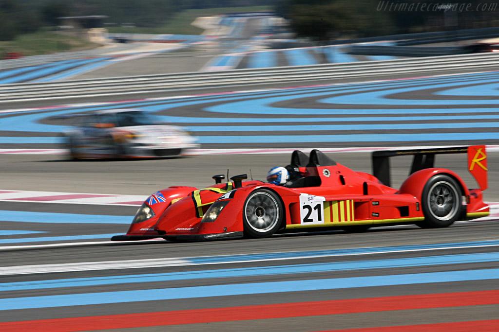 Radical SR9 AER - Chassis: SR9002 - Entrant: Team Bruichladdich  - Le Mans Series 2007 Season Preview