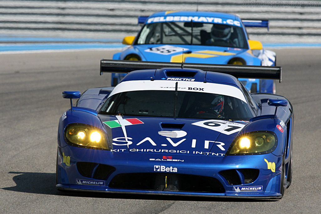 Saleen S7R - Chassis: 080R - Entrant: Racing Box  - Le Mans Series 2007 Season Preview