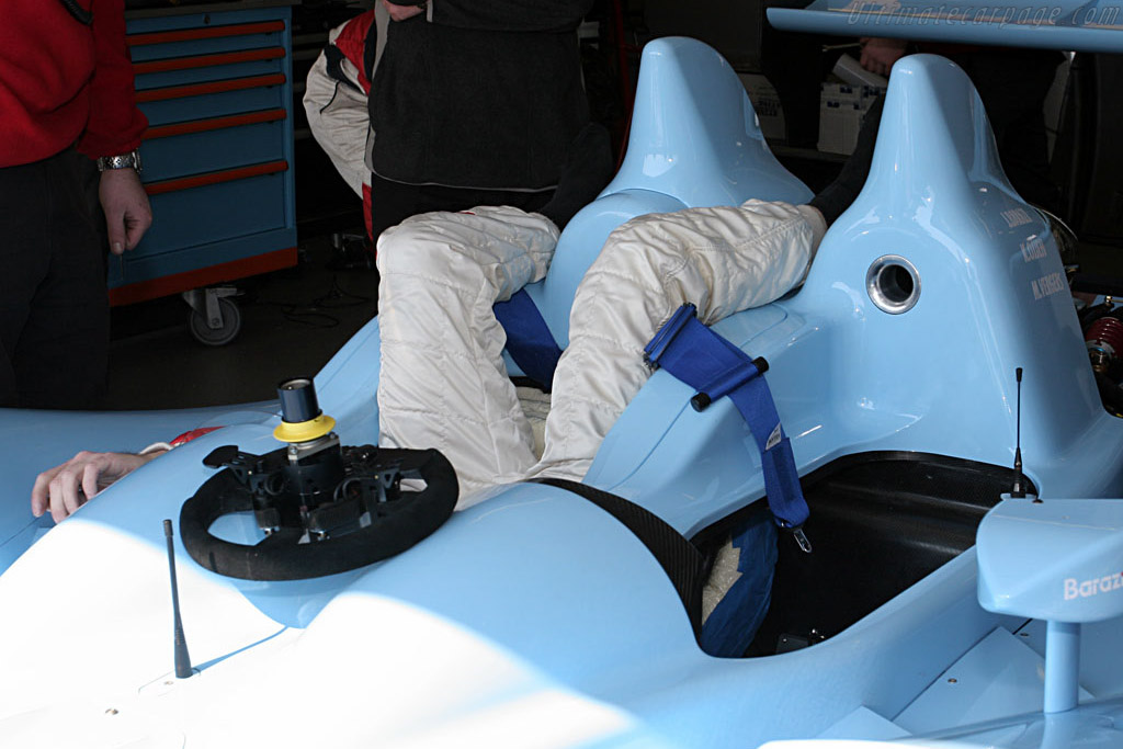 Somebody lost the keys - Chassis: 07S-01 - Entrant: Barazi Epsilon  - Le Mans Series 2007 Season Preview