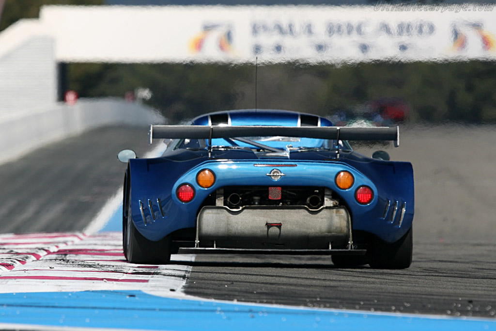 Spyker C8 Spyder GT2R - Chassis: XL9AB01G97Z363193 - Entrant: Speedy Racing Team  - Le Mans Series 2007 Season Preview