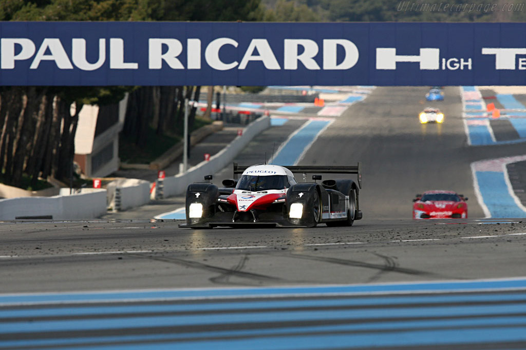 Welcome to Paul Ricard - Chassis: 908-01 - Entrant: Peugeot Sport Total - Le Mans Series 2007 Season Preview