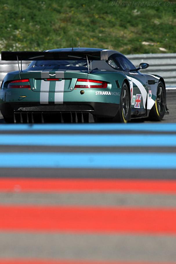 Aston Martin DBR9 - Chassis: DBR9/4 - Entrant: Strakka Racing - Driver: Peter Hardman / Nick Leventis  - 2008 Le Mans Series Preview