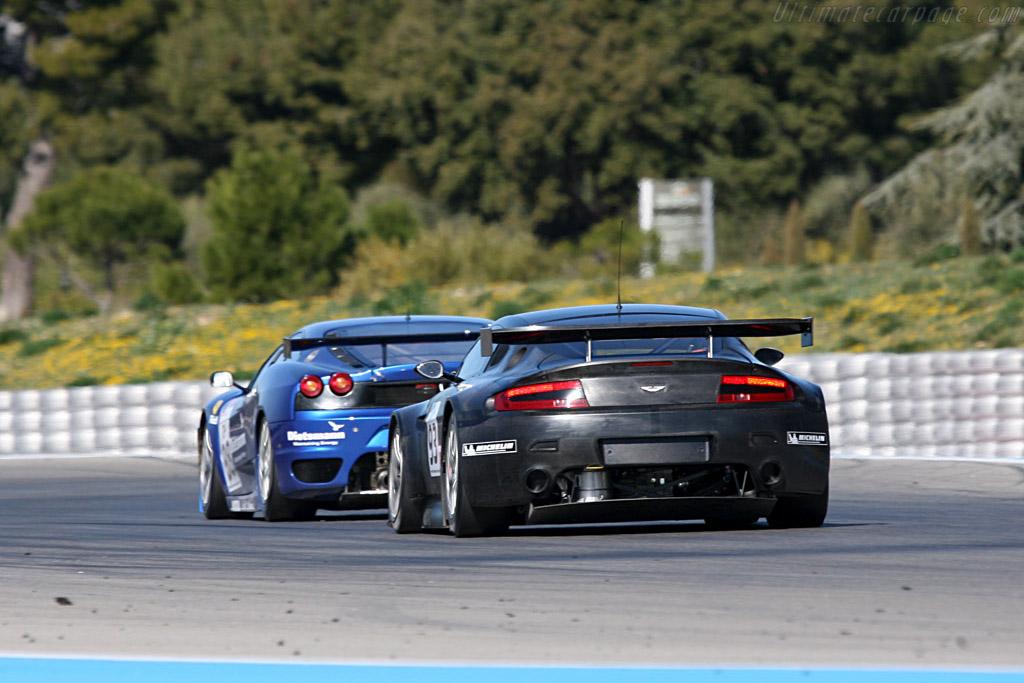 Aston Martin V8 Vantage GT2 - Chassis: V8 X2 - Entrant: Aston Martin Racing - Driver: Darren Turner  - 2008 Le Mans Series Preview