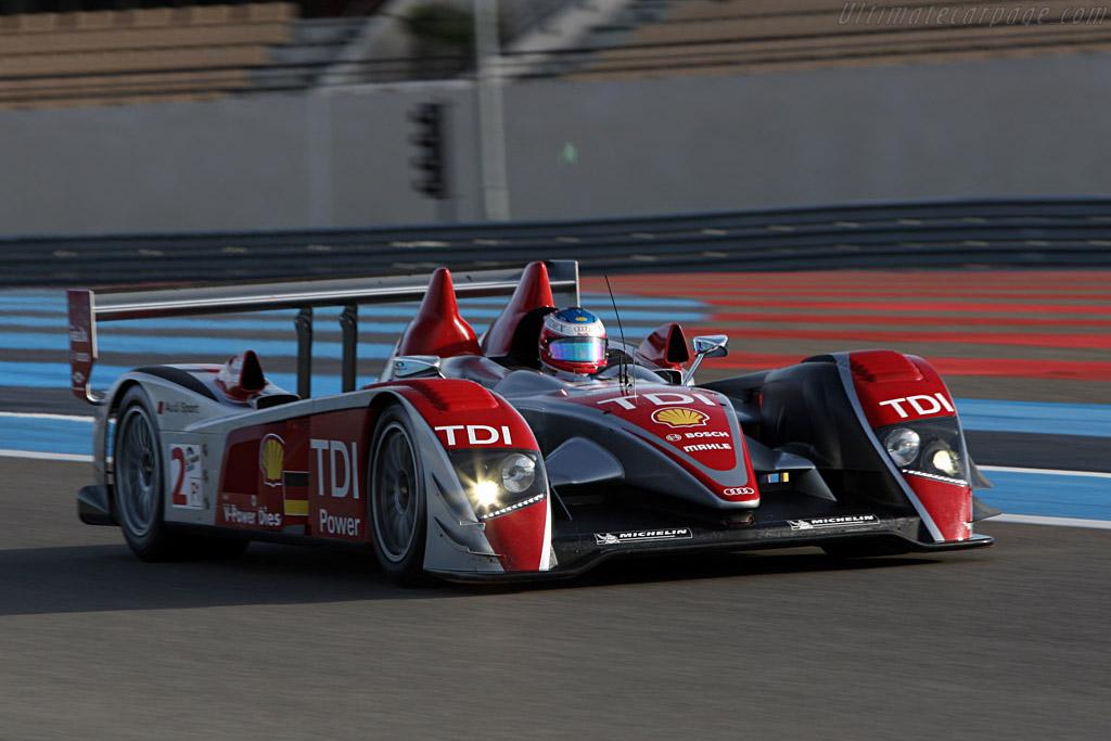 Audi R10 TDI - Chassis: 301 - Entrant: Audi Sport Team Joest - Driver: Mike Rockenfeller / Alexandre Premat  - 2008 Le Mans Series Preview