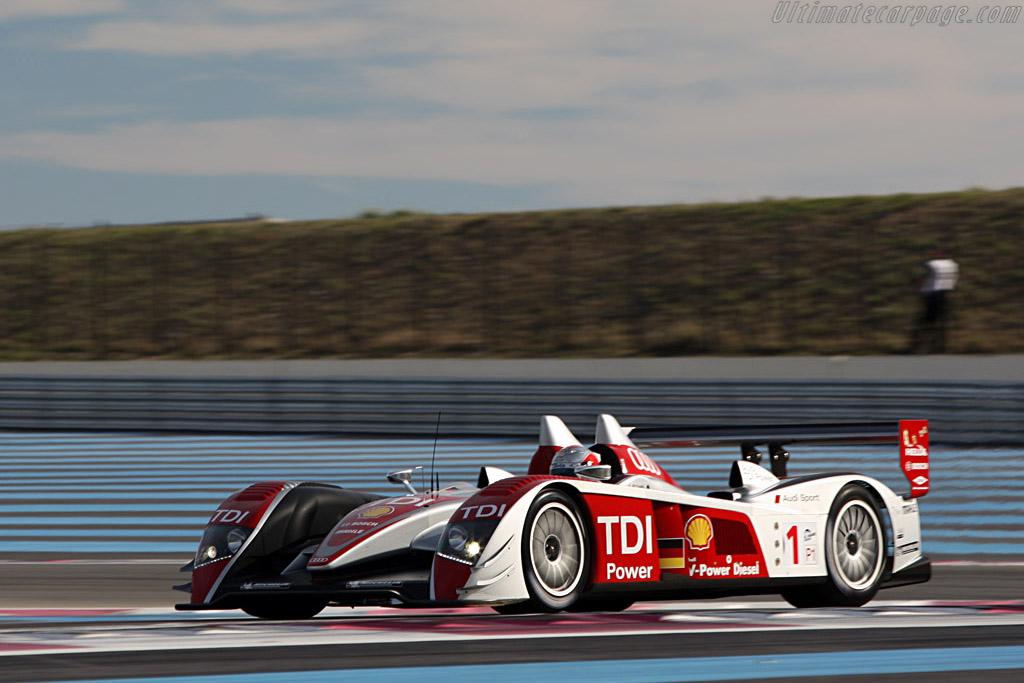 Audi R10 TDI - Chassis: 204 - Entrant: Audi Sport Team Joest - Driver: Allan McNish / Rinaldo Capello  - 2008 Le Mans Series Preview